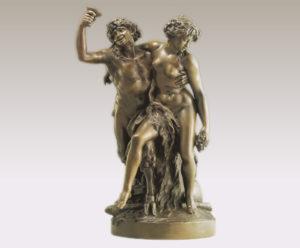 サチュロスとバッカス