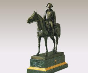 ナポレオン騎馬像