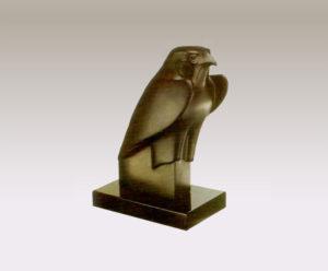 玄武岩の鷹