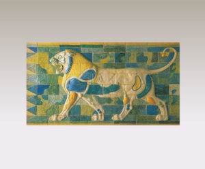 ライオンのフリーズ